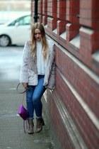 magenta Rebecca Minkoff bag