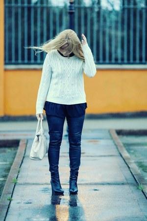 black Helene Rouge Paris boots