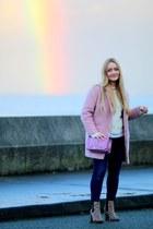pink love crossbody Rebecca Minkoff bag