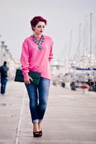 Pink Oversized Knit