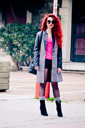 asos sunglasses - Zara top