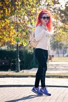 Adidas sweatshirt - Prada sunglasses - nike sneakers