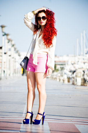 Steve Madden shoes - Zara shorts - asos earrings