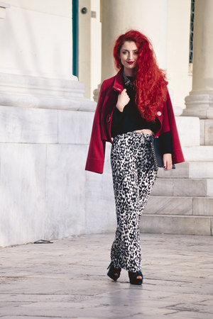 vintage jacket - Zara pants