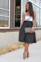 ashish top - Express skirt - Jcrew heels