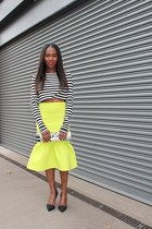Dolce & Gabbana bag - asos skirt - Zara top