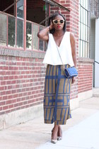 JCrew shoes - Stella McCartney bag - Panda sunglasses - asos pants