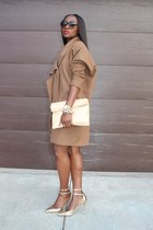 asos coat - Celine bag - Tom Ford sunglasses - Jcrew heels