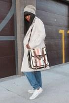 PROENZA SCHOULER bag - Hugo Boss coat - Converse sneakers