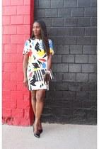 Zara dress - Marc Jacobs bag - Valentino heels