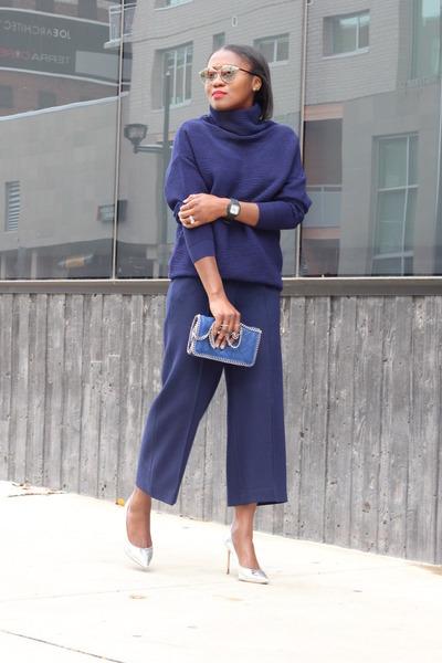 Manolo Blahnik shoes - asos sweater - Stella McCartney bag - dior sunglasses