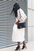 PROENZA SCHOULER shoes - Akira jacket - Chanel bag - Karen Walker sunglasses