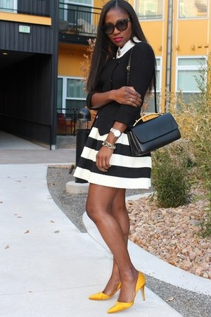 Anthropologie skirt - Scorah Patullo shoes - banana republic jacket - Marni bag
