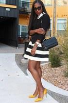 Anthropologie skirt - Scorah Patullo shoes - banana republic jacket - Marni bag
