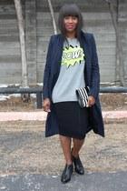 Zara coat - Autumn Cashmere sweater - Marc Jacobs bag