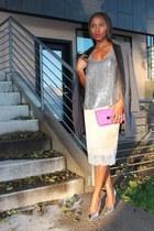 Jacket jacket - Bag bag - heels heels - Top top
