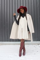 Chloe boots - 31 Phillip Lim dress - Hugo Boss coat - Marni bag