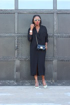 baublebar bracelet - asos dress - Furla bag - Oliver Peoples sunglasses