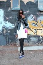 balenciaga dress - Veda jacket - PROENZA SCHOULER bag - Valentino heels
