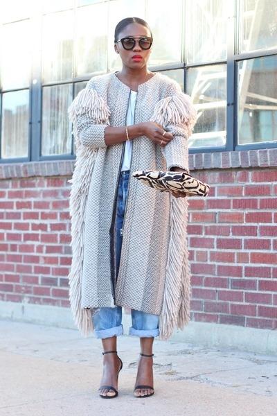 Rachel Comey coat - Steve Madden shoes - Levis jeans - Jcrew bag