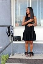 Trina Turk dress - Equipment jacket - Chanel bag - Jcrew sandals