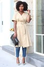 Club-monaco-dress-madewell-jeans-chanel-bag-urban-outfitters-sunglasses