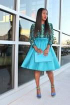 Valentino bag - asos skirt - Equipment blouse - Yves Saint Laurent heels