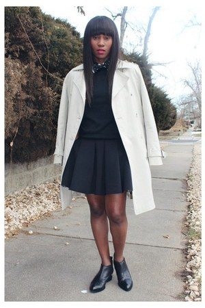 Marc by Marc Jacobs coat - Alexander Wang shoes - Zara sweater