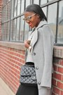 Weekday-coat-chanel-bag-oliver-peoples-sunglasses-jcrew-sweatshirt