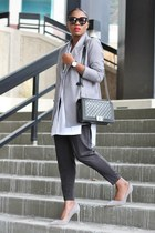 cameo blazer - Chanel bag - Helmut Lang top - Need Supply pants