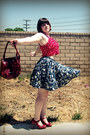 Ruby-red-gnw-purse-ruby-red-ruffled-leather-report-heels-blue-patterned-lil-
