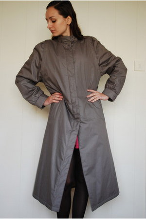 heather gray Canda coat