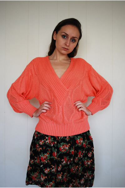 salmon unknown cardigan