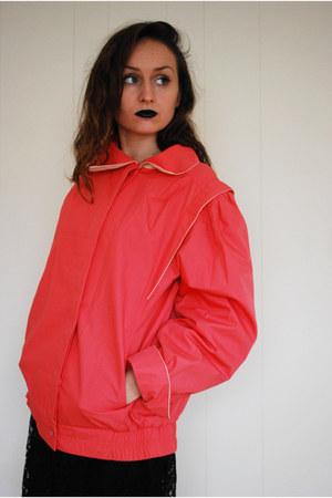 salmon unknown brand jacket