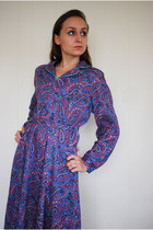 Light-purple-norman-linton-dress