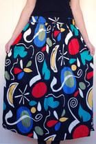 Black-erfo-skirt