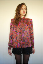 Pink-100-polyester-crossgrade-blouse