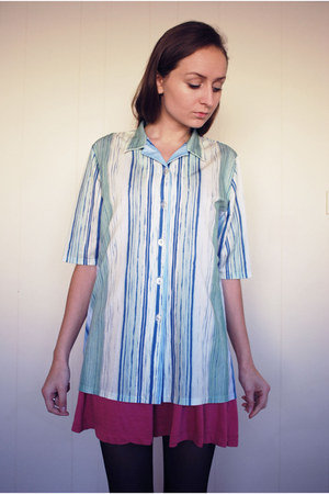 sky blue Finn Karelia shirt