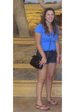 Ralph Lauren t-shirt - shorts - forever 21 shoes - American Eagle shoes