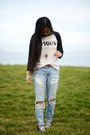 Urban-outfitters-jeans-forever-21-shirt-converse-sneakers