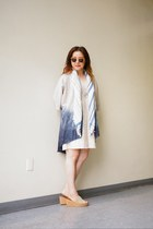 Urban Renewal dress - square Urban Outfitters scarf