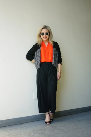 Absolutely cardigan - Urban Outfitters sunglasses - H&M pants