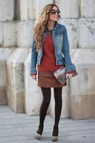 Philip Plein jacket - Coosy dress - Zara bag