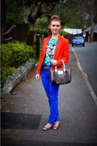 H&M shoes - Primark blazer - LV bag - H&M pants - Primark t-shirt - H&M belt