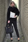 Black-oversized-big-zara-coat-black-melie-bianco-bag-black-we-fashion-pants