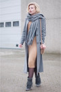 Heather-gray-costes-boots-beige-asos-dress-heather-gray-ashley-brooke-coat
