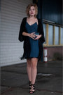 Navy-zara-dress-navy-ikks-purse-black-primark-cardigan-black-zara-sandals