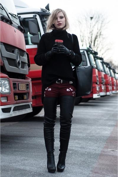 black Anna Dello Russo x H&M boots - black Issue 13 sweater