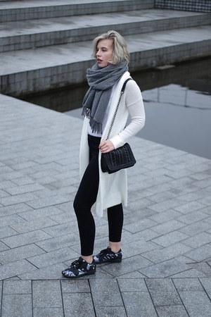 ivory Melting Stockholm cardigan - black Only jeans