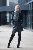 black mai piu senza boots - black Yesstyle coat